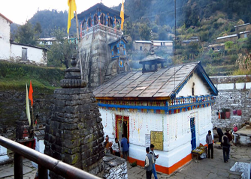 trijuginarayan akhanddhuni temple