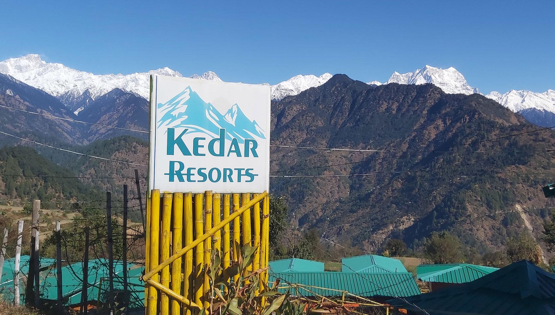 kedar resorts gupkashi